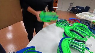 3D lab helping get face shields to teachers, students