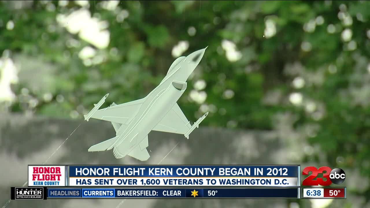 Honor Flight Kern County hosts an annual fundraiser to send local veterans to D.C.