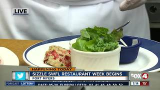 Sizzle SWFL Restaurant Week raises money for FGCU student scholarships - 7am live report