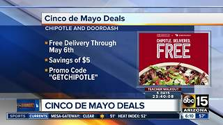 Cinco de Mayo deals around the Valley - Video