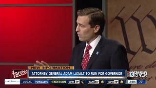 Attorney General Adam Laxalt announces run for governor - Video