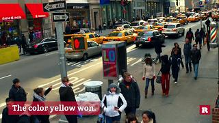 Why are taxicabs yellow? | Rare News - Video