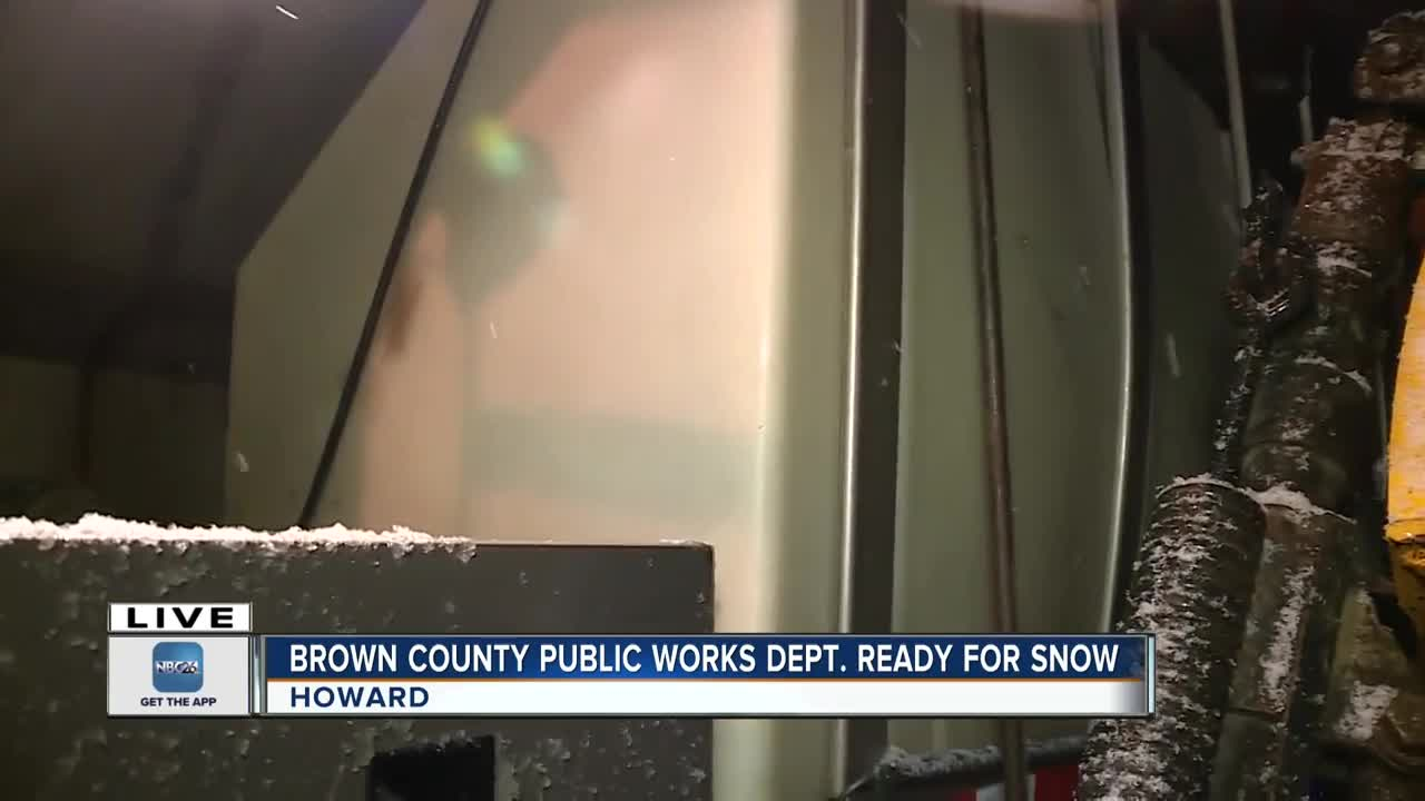 Brown County Public Works prepares for October winter weather