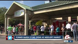 Downtown Indianapolis Marsh officially becomes Needler's Fresh Market - Video