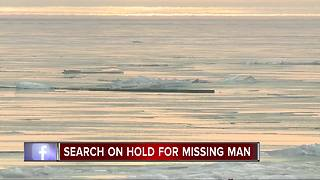US Coast Guard searching for ATV rider who fell through the ice - Video