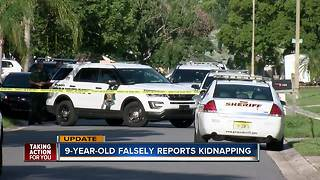 Reported kidnapping in Pasco County determined to be unfounded