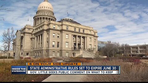 Public comments open on Idaho Administrative Code