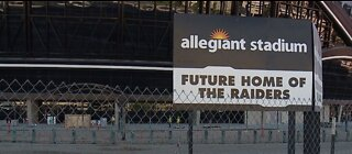 LOOK INSIDE: Allegiant Stadium rushes ahead for July completion despite pandemic