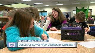 Greenland Elementary offers 'ounces of advice' for new mothers - Video
