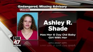 MISSING: Woman and 6-day-old girl