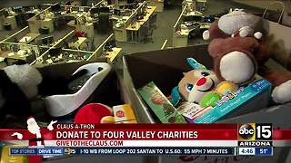 Operation Santa Claus raises money for Valley charities - Video
