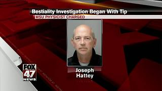 MSU employee charged with alleged bestiality