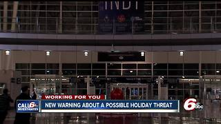 "Homeland security warns travelers to ""stay alert"" during holiday weekend - Video"