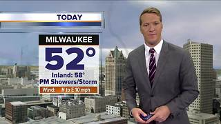 More showers this afternoon, and maybe flakes