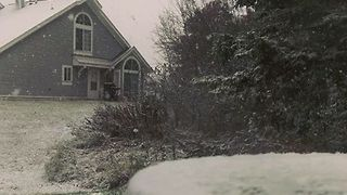 First Snow of the Year Blankets Areas of Minnesota - Video