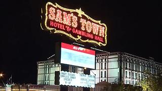 Innocent person shot at Sams Town - Video