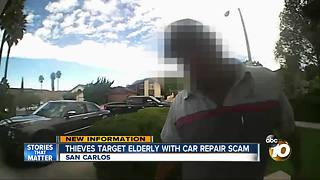 Thieves target elderly with car repair scam - Video