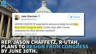 Chaffetz Expected To Announce He's Leaving Congress Early - Video