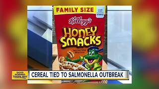 Honey Smacks linked to salmonella outbreak - Video