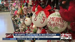 How soon is too soon for Christmas decorations?