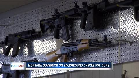Politifact Wisconsin checks up on guns purchased without background checks in the U.S