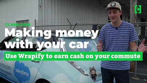 Use Wrapify to make money with your car