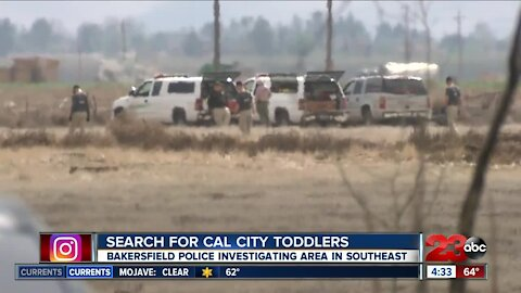 BPD continues to search missing Cal City Toddlers