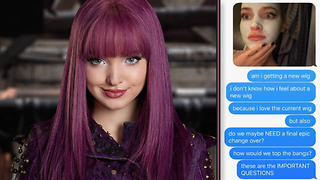 Dove Cameron Texts the President of Disney Some