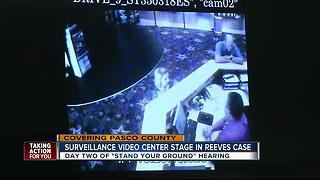 Surveillance video center stage in Reeves case - Video