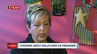 Concerns about wallflower air freshener