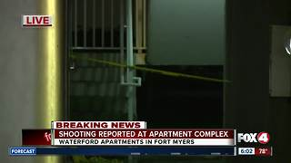 Man shot at Fort Myers apartment complex -- 6am live update - Video