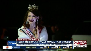 Sand Springs' Christmas festival this weekend - Video