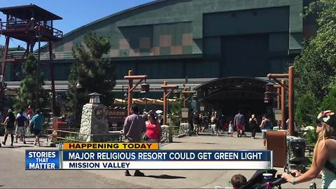 Religious resort would include Disney-like ride