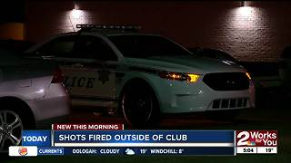 Tulsa Police investigate overnight shooting outside club - Video