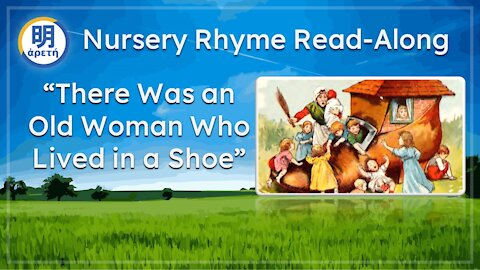 'There was an Old Woman who lived in a shoe' Classic Nursery Rhyme