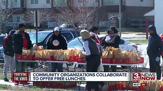 Community organizations collaborate to offer free lunches