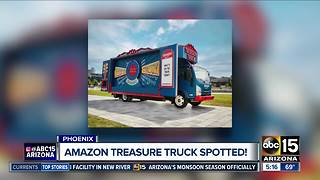 Is the 'Amazon Treasure Truck' in Phoenix?