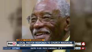 SWFL pastor responds to Texas church massacre