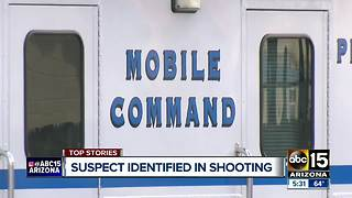 Suspect identified in officer-involved Phoenix shooting - Video