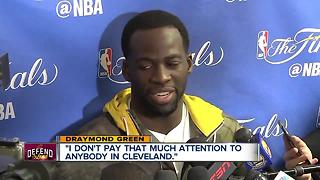 Draymond Green has harsh words for Cleveland - Video