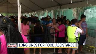 Thousands seek SNAP benefits after Hurricane Irma - Video