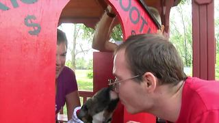 Animal shelter offers Smooch A Pooch for Valentines day - Video