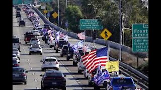 CARAVANS FOR JANUARY 6 MARCH FOR TRUMP