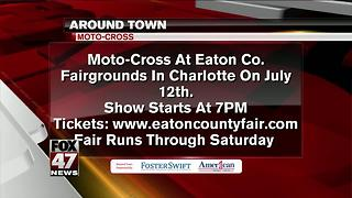 Around Town 7/11/17: Moto-Cross at Eaton Co. Fairgrounds - Video
