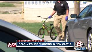 Suspect killed after shooting New Castle police officer - Video