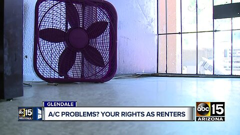 Renters say apartments in Glendale have been without A/C for weeks