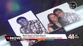 Mom wants answers 3 years after son's murder - Video