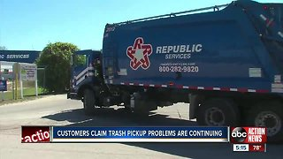 County asks for patience as new trash pickup method causes frustration in first week