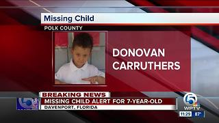 7-year-old boy missing in Polk County - Video