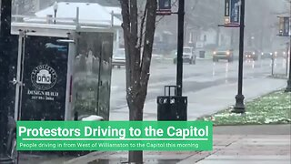 """""""Operation Gridlock"""" protest underway at State Capitol"""
